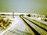 Chrzanów 1979 Wyjazd z Osiedla Północ w kierunku Trzebini