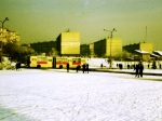 Chrzanów 1979 Osiedle Północ, widok z Placu Tysiąclecia