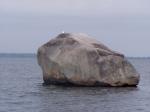Głaz Królewski na Wyspie Chrząszczewskiej