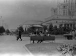 Pałac Kultury i Nauki w Warszawie około 1960 roku