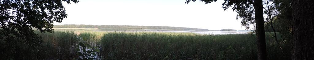 Jezioro Serwy - panorama