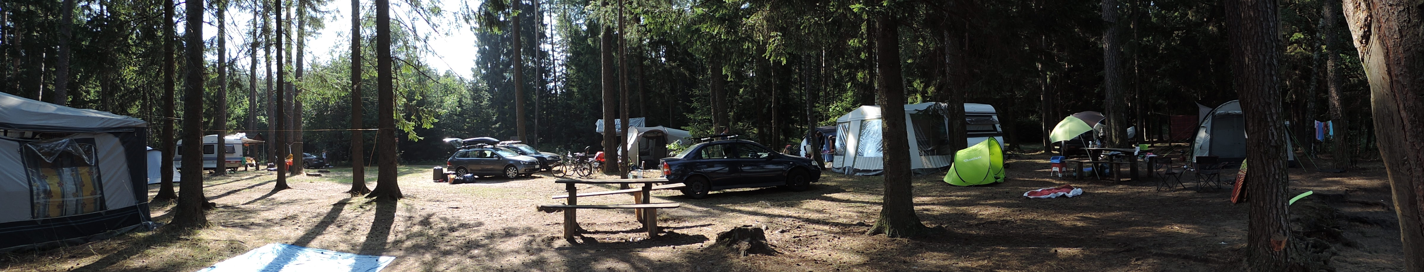 Sucha Rzeczka Camping - panorama