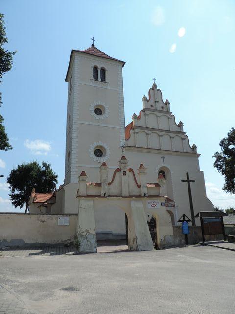 Janowiec kościół