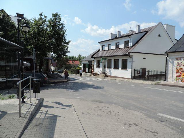 Janowiec - Rynek