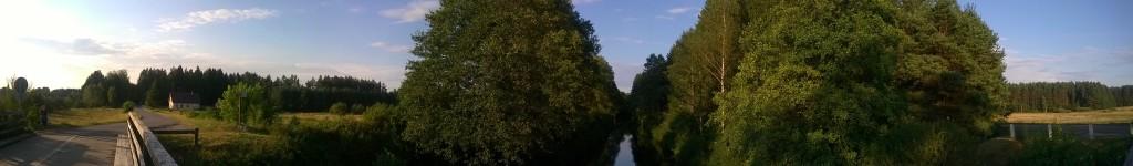 Sucha Rzeczka - Most nad Kanałem Augustowskim
