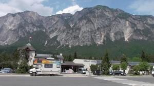 Arnoldstein granica Austriacko Włoska
