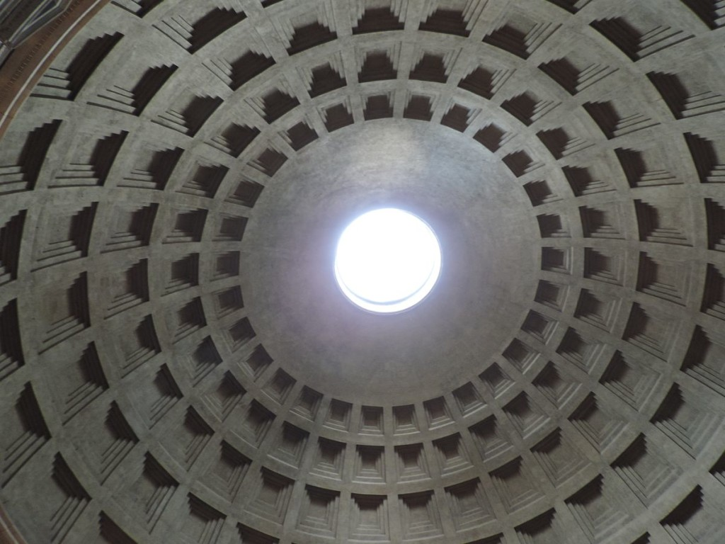 Kopuła Pantenonu w Rzymie