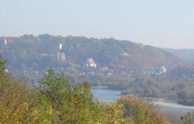 Widok na Kazimerz Dolny z Janowca