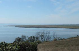 Widok na Wielki Krzek z Lubin na Wolinie