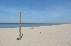 Plaża w Wisełce na Wolinie