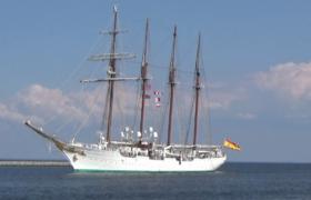 Żaglowiec Juan Sebastián de Elcano